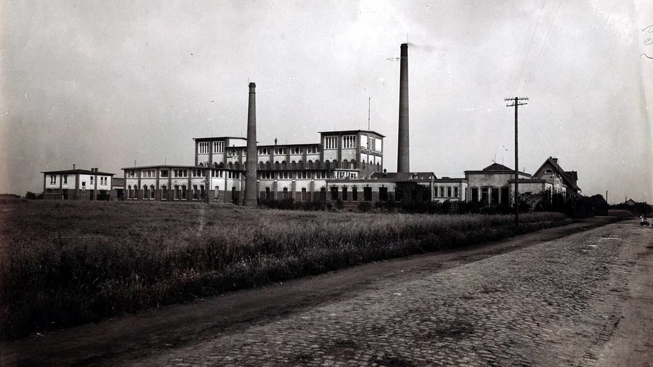 The Stockhausen & Cie. chemical works, factory in Krefeld, sometimes after 1912