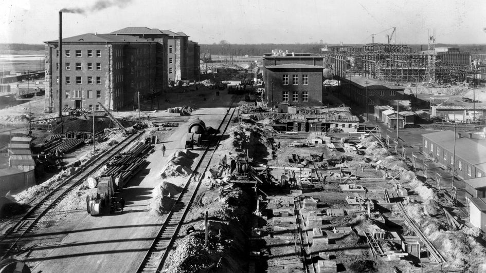Construction of the plant, 1939