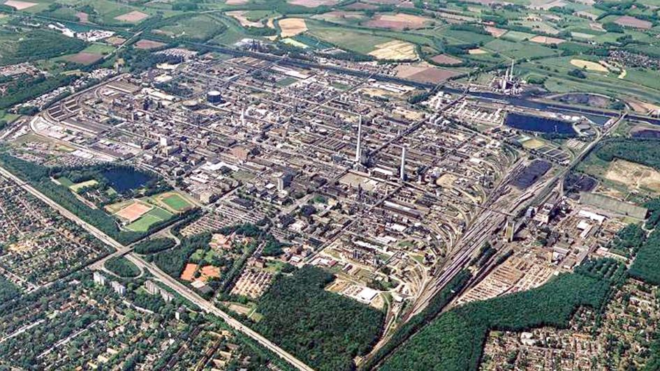 Marl site, aerial view 2002